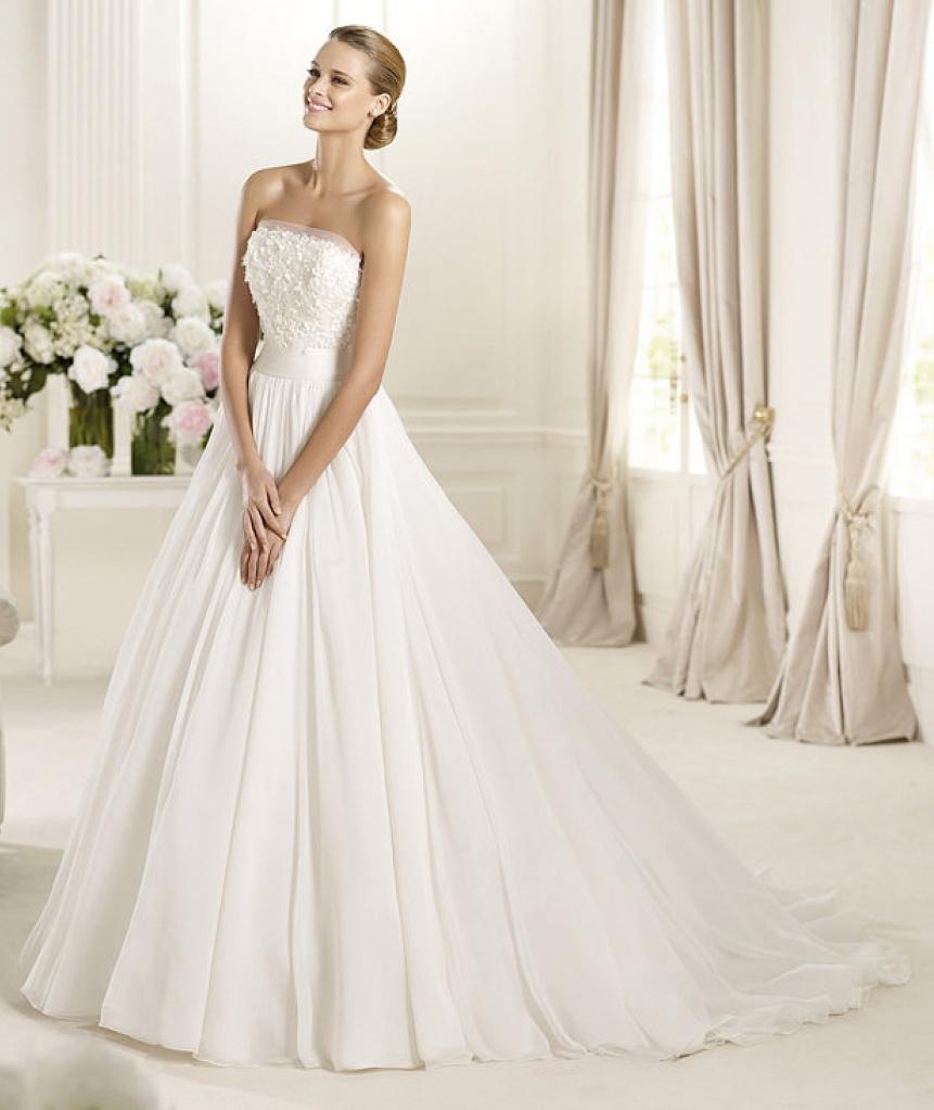 Подгон свадебного платья в ателье